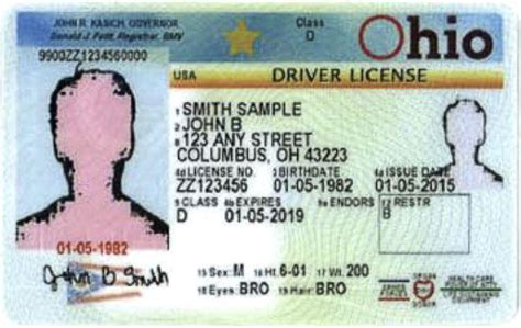 ohio license drivers licenses and state ids new look wyso