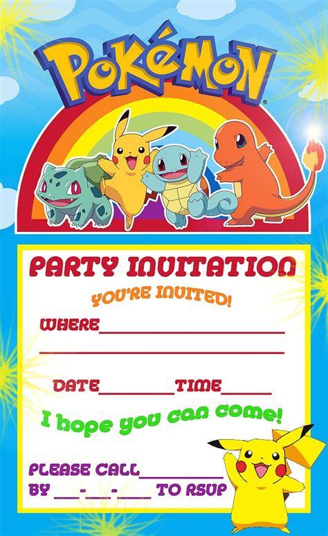 Pokemon theme for a kid s birthday party bookeventz