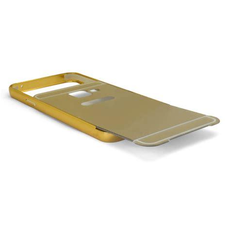 Samsung Galaxy A3 2016 A310 Bumper Mirror bumper aluminium avec miroir arri 232 re galaxy a3 2016 a310 or