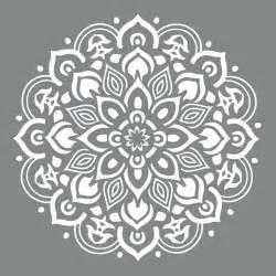 Decoart americana decor 10 in x 10 in mandala stencil ads505 b the