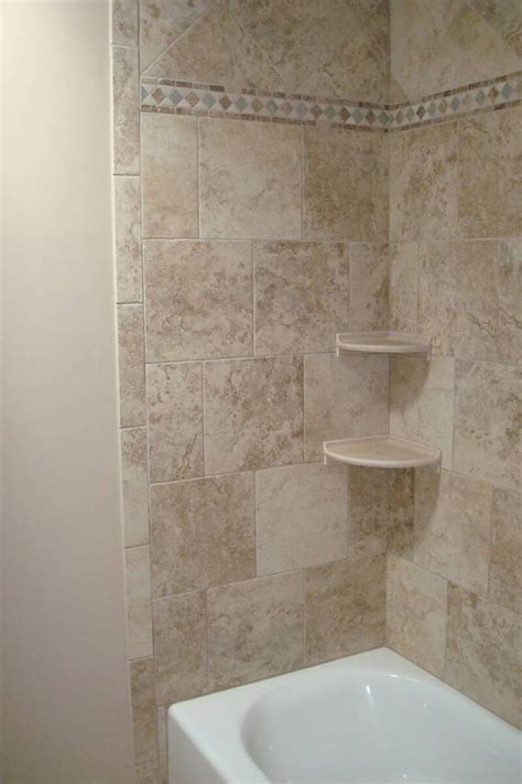 Tiling A Shower Wall Corner by 25 Best Ideas About Bathtub Tile Surround On