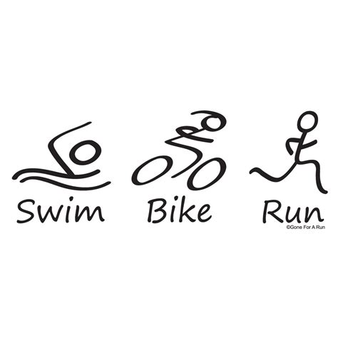 swim bike run our 0241965845 triathlon swim bike run logo www imgkid com the image