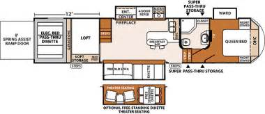 5th wheel hauler floor plans 5th wheel hauler floor plans quotes