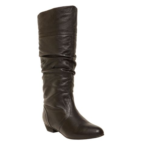 steve madden boots steve madden candence boots in black lyst