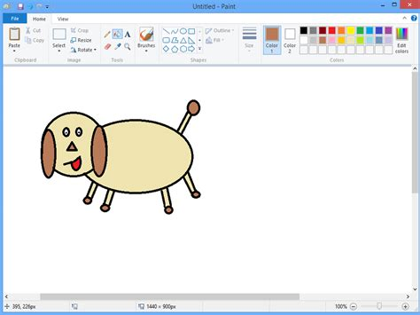 microsoft drawing pin microsoft paint picture on