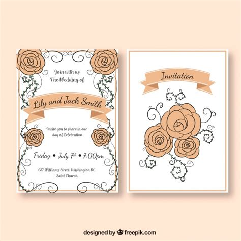 Wedding Invitation Freepik by Wedding Invitation Templates Freepik Matik For