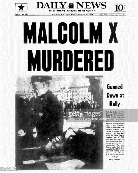 malcolm x illuminati 1965 newspaper headlines malcolm x murdered
