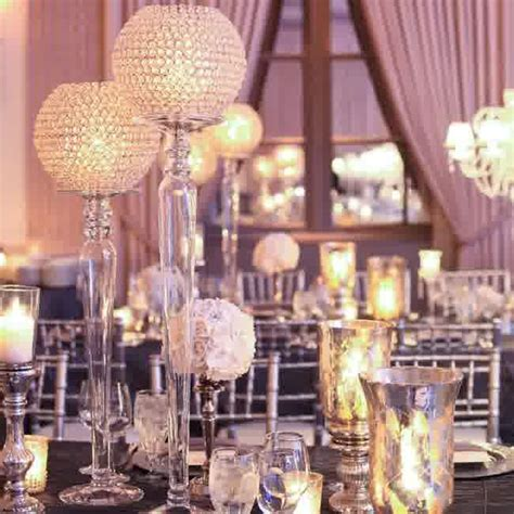 wedding reception table centerpieces without flowers cheap wedding centerpieces without flowers beautifully