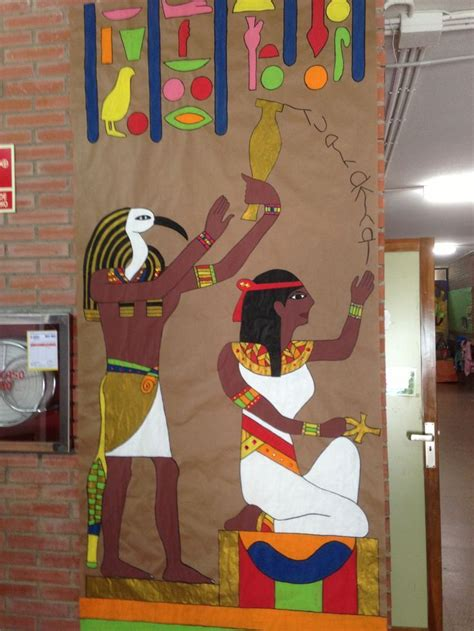 imagenes egipcias manualidades resultado de imagen de decoracion colegio egipto egipto