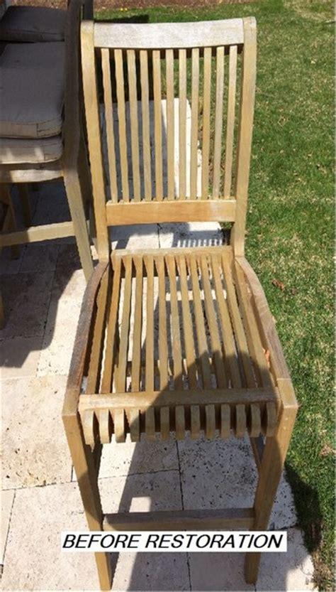 Teak Garden Furniture Restorer Teak Furniture Restoration Modern Boston By Seal A Deck