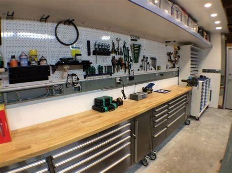 workshop garage 1000 ideas about garage workbench on pinterest garage