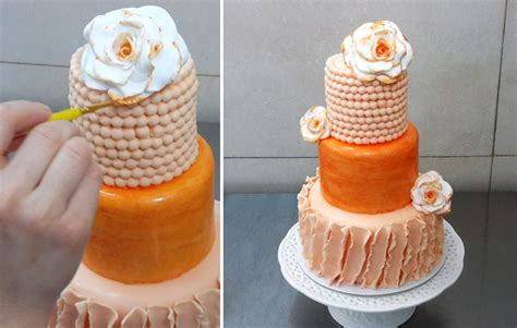 Cake Decorating Supplies by Wedding Cake Decorating Idea By Cakes Stepbystep