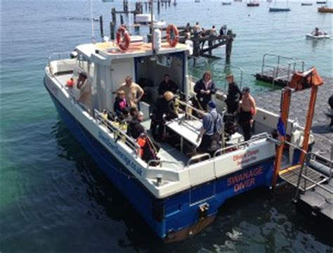 fishing boat hire swanage dive trip swanage with indepth
