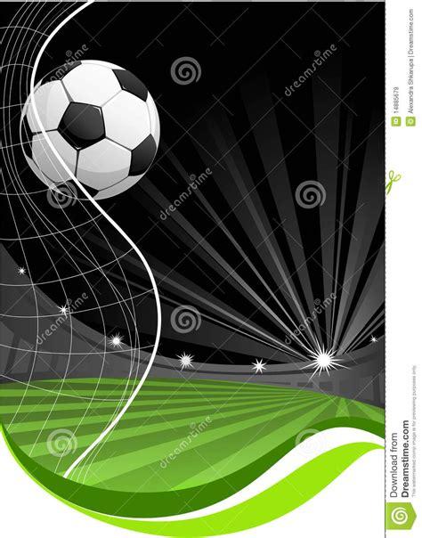 imagenes jpg futbol fondo del juego de f 250 tbol ilustraci 243 n del vector