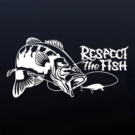 bass fishing boat stickers largemouth bass fishing decal fish window stickers for
