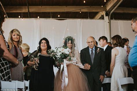wedding aisle pool paralyzed from swimming walks