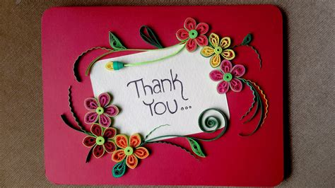 how to make a card paper quilling card how to make a beautiful greeting card