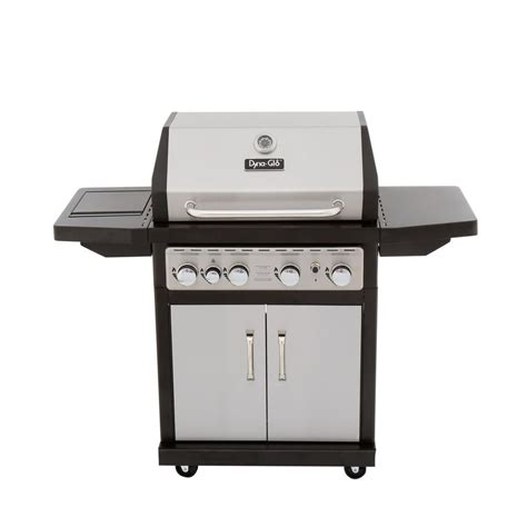 Stainless Gas Grill by Dyna Glo 4 Burner Gas Grill In Stainless Steel