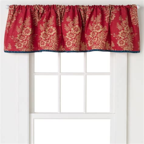 Gold Curtains For Bedroom Red Cotton Valance Kohl S