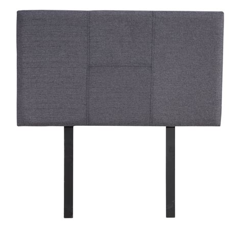 grey single headboard single fabric headboard grey bambino living