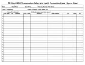 Construction Sign In Sheet Template by Staff Meeting Sign In Sheet Forms And Templates Fillable
