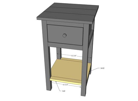 bedroom end table plans bedroom end tables plans walnut et mission style end