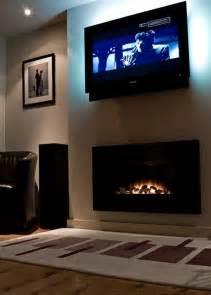 fancy electric fireplace tv mount