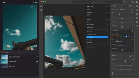 lightroom cc  synced presets  mobile batch editing