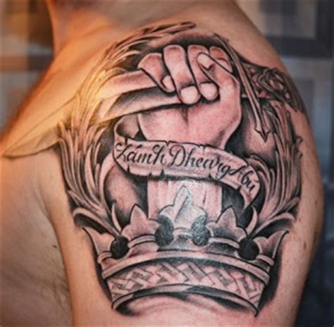trap tattoo shoulder tattoos insider