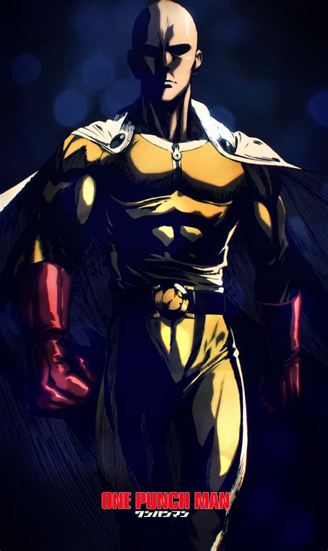 wallpaper iphone 6 one punch man one punch man saitama wallpapers iphone wallpapaer