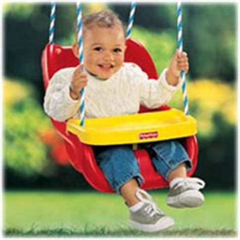 infant outdoor swings tray lifts up and stays out of the way while you fasten