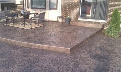 small concrete backyard ideas concrete patio ideas for small yards landscaping