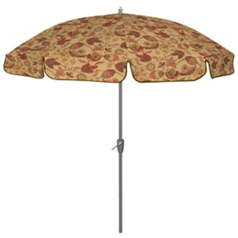 Patterned Patio Umbrellas Arden Outdoor 7 5 Quot Polyester Dearden Floral Patio Umbrella