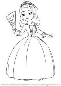 draw princesses learn how to draw princess from sofia the