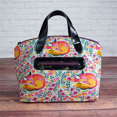 Handmade Bag Pattern - lola domed handbag sewing patterns and patterns