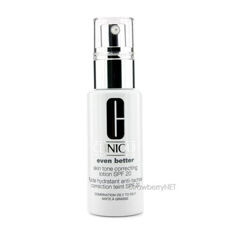 clinique even better spf 20 clinique even better skin tone correcting lotion spf 20