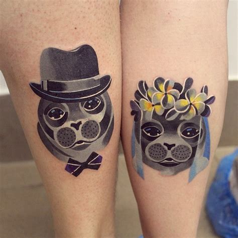 unisex tattoos for couples seals wedding by unisex design of