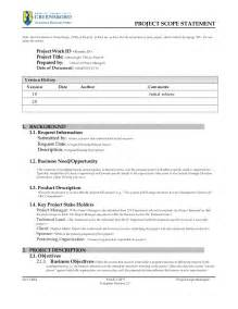 scope statement template project scope statement template v2 3