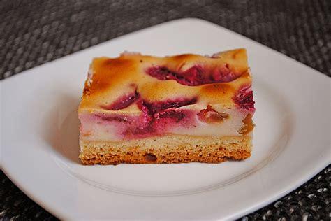 rhabarber kuchen rezepte rhabarber quark kuchen schnell rezepte suchen