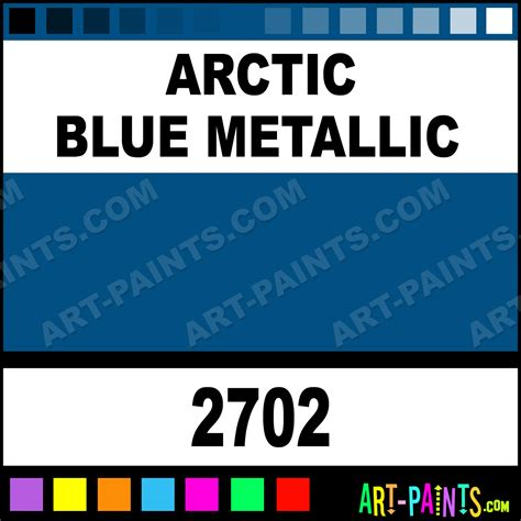 arctic blue metallic model acrylic paints 2702 arctic blue metallic paint arctic blue