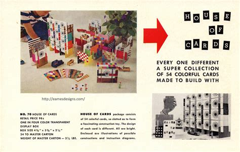 Ray And Charles Eames House Of Cards Global Business