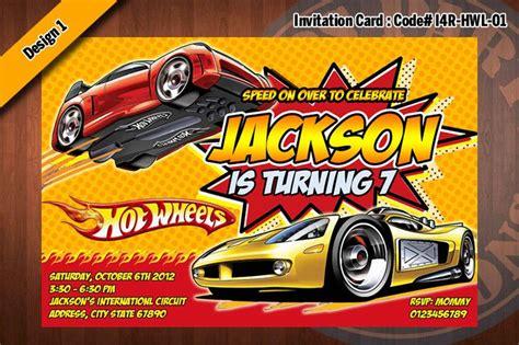 Hot Wheels Birthday Party Invitations Dolanpedia Invitations Ideas Wheels Birthday Invitation Template