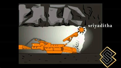 design mine graphics continuous mining 2d animation and graphics for