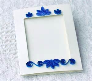 quilling quilled card photo frame paper frame paper
