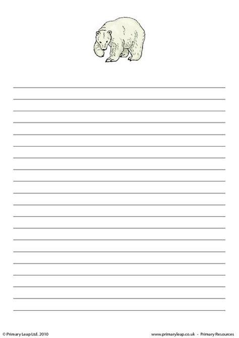 polar writing paper polar writing paper 1 primaryleap co uk