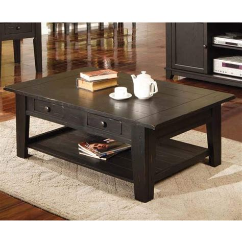silver kitchen table steve silver liberty coffee table in antique black