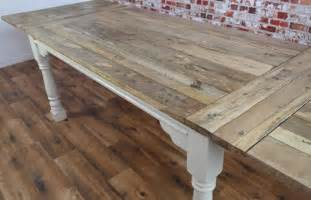 Rustic Painted Dining Tables » Home Design 2017