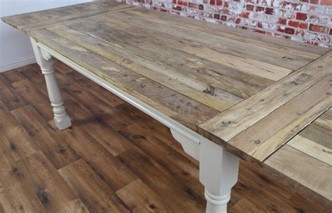 Farmhouse Extendable Dining Table Reclaimed Wood Dining Tables Rustic Farmhouse Style