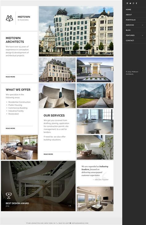 theme wordpress architect 25 best wordpress themes for architects architecture