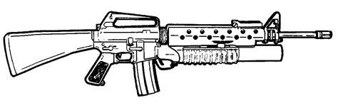 free machine gun coloring pages
